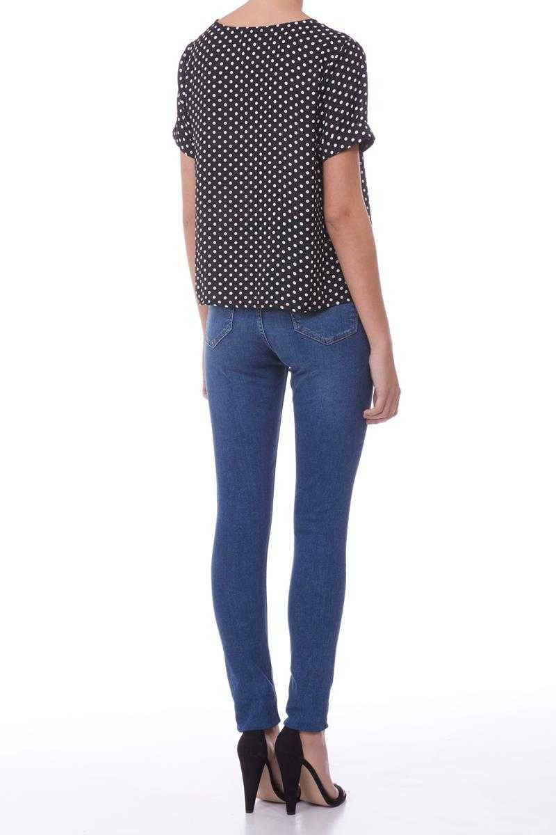 Poppy Lux Rudy Polka Dot Top