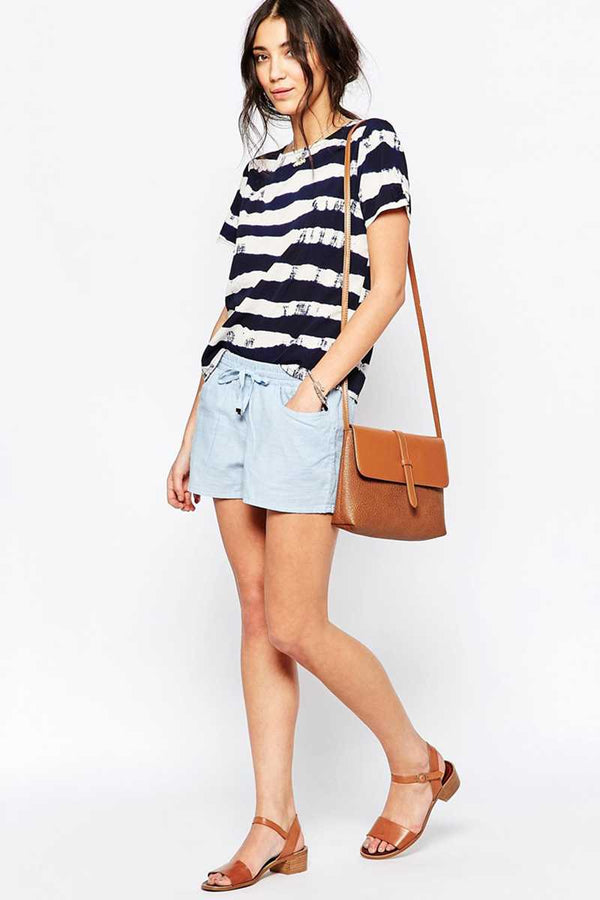 Sugarhill Boutique Nautical Stripe Tee Top