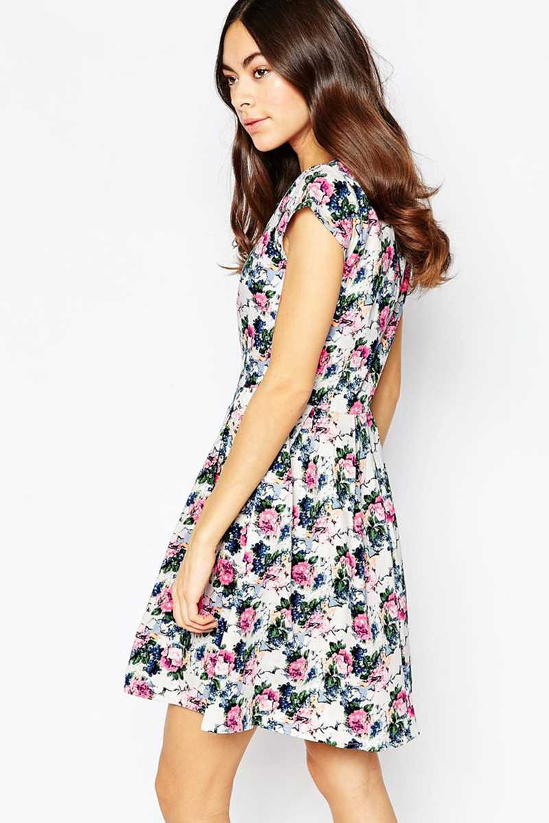Sugarhill Boutique Aurora Floral Dress