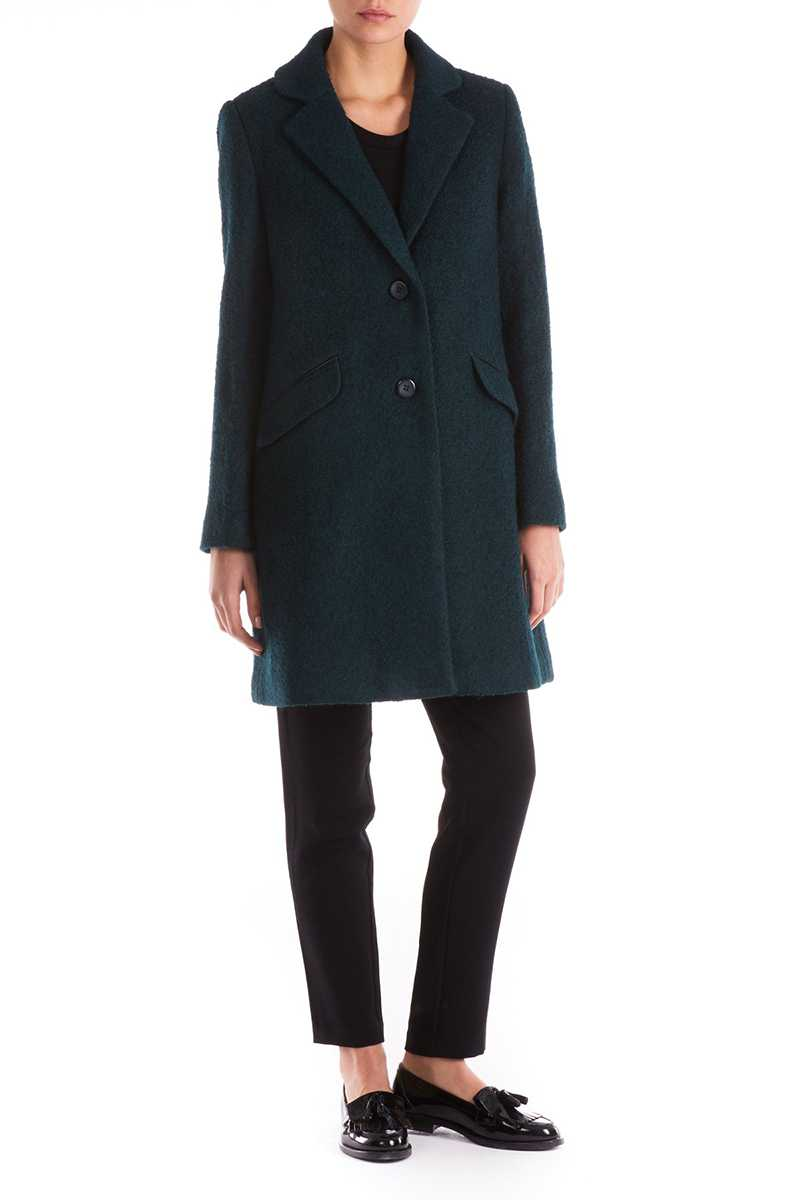 Sugarhill Boutique Layla Textured Green Coat