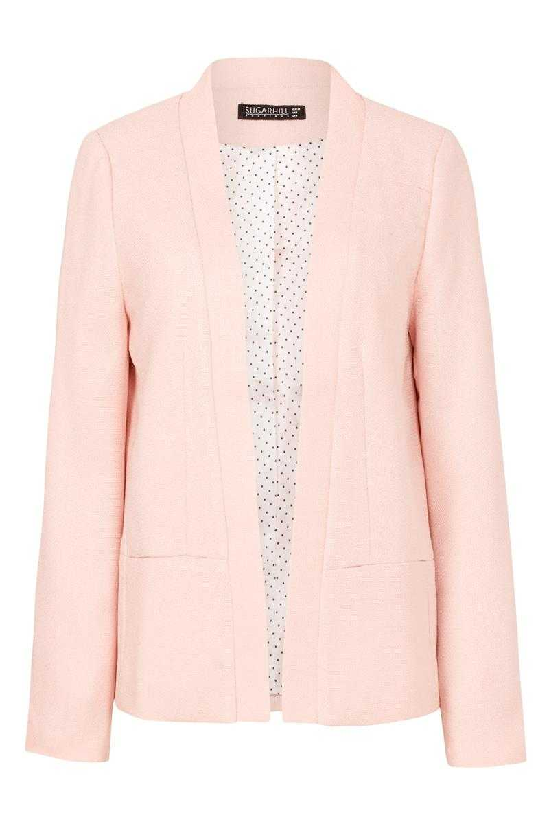 Sugarhill Boutique Spring Blazer Peach