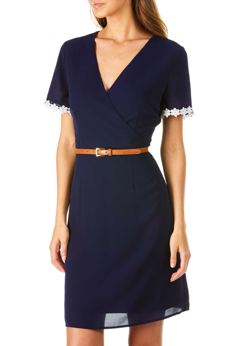Poppy Lux Sanfrancisco Wrap Dress