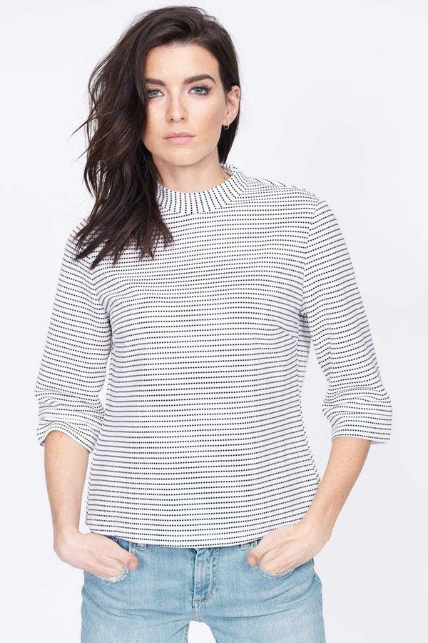 Poppy Lux Rachel High Neck Top