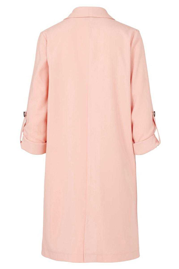 Poppy Lux Dallas Duster Jacket Blush