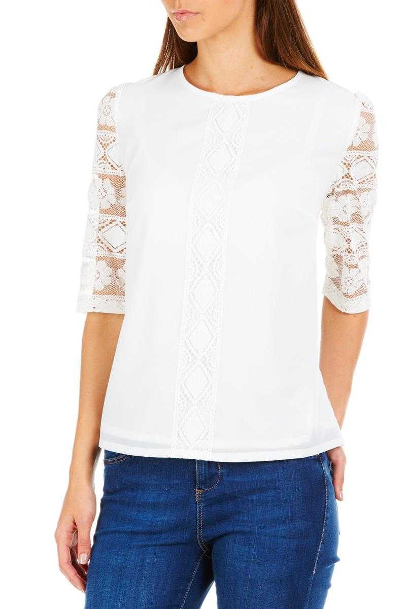Sugarhill Boutique Carrie Lace Insert Top