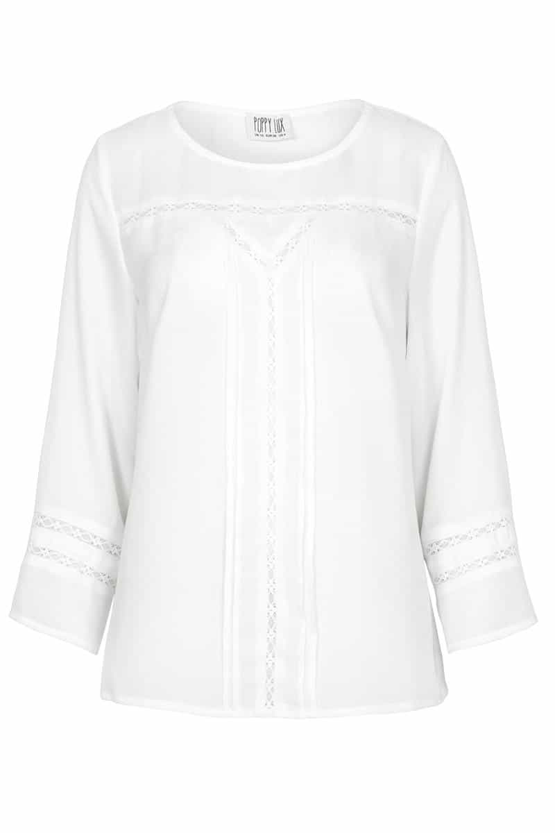 Poppy Lux Indianna Lace Boho Top