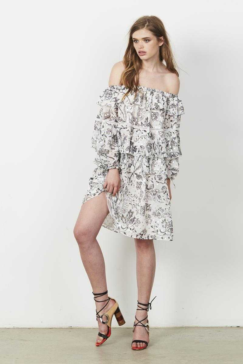 Stevie May The Cloudy Day Mini Dress