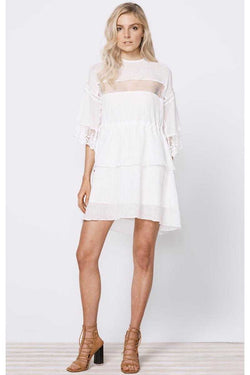 Stevie May Lunar Day Linen Mini Dress