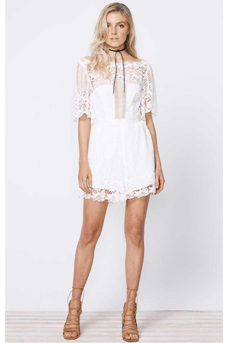 Stevie May Violante Lace Playsuit