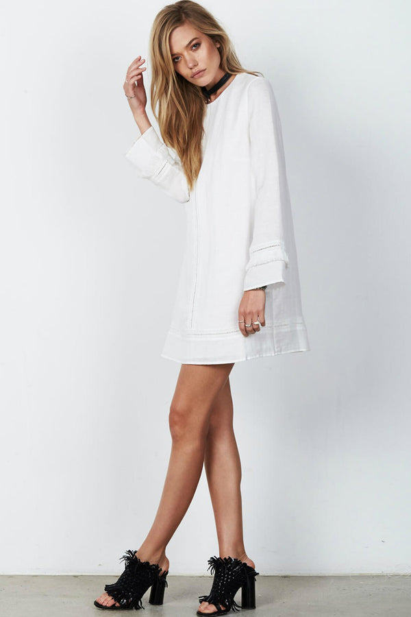 Stevie May Flow Long Sleeve Mini Dress
