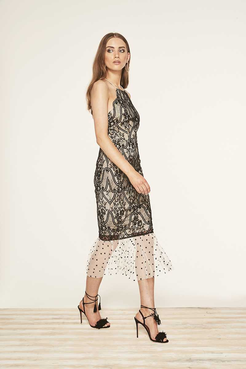 TALULAH Interlaced Maxi Dress