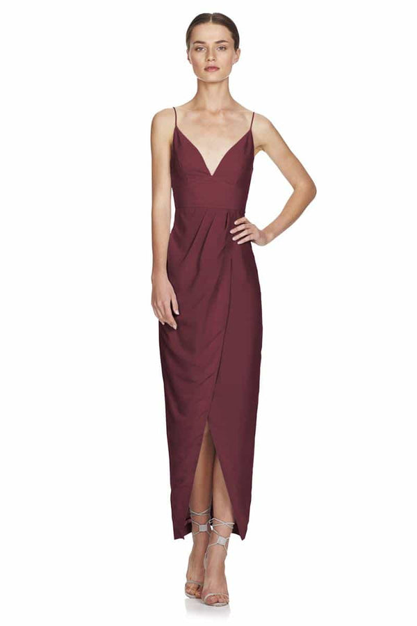 TALULAH Wandering Eye Maxi Drape Dress