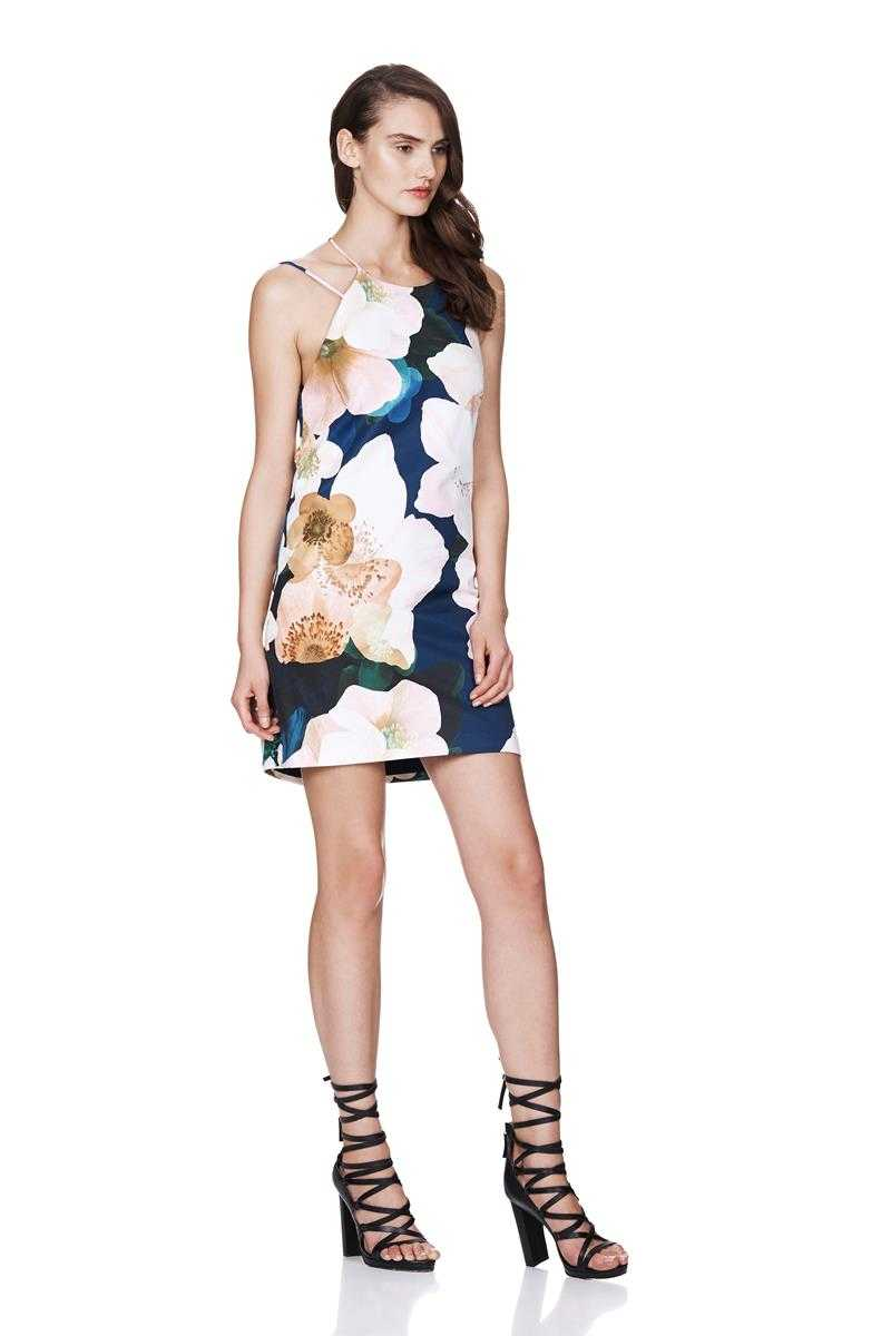 TALULAH Alli Need Floral Mini Shift Dress