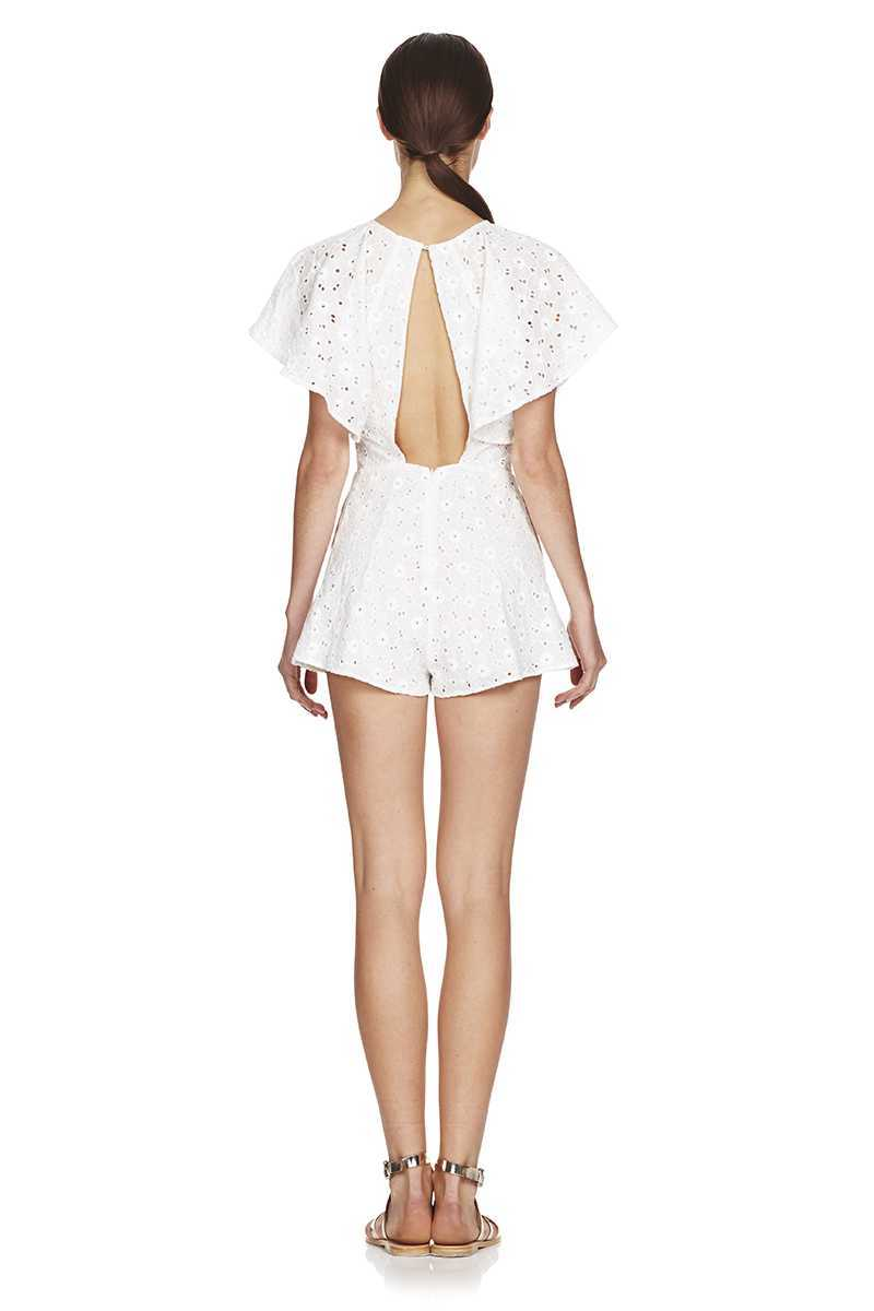 TALULAH Avenue Flare Sleeve Playsuit