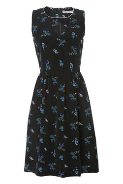 Trollied Dolly Peacock Skater Dress