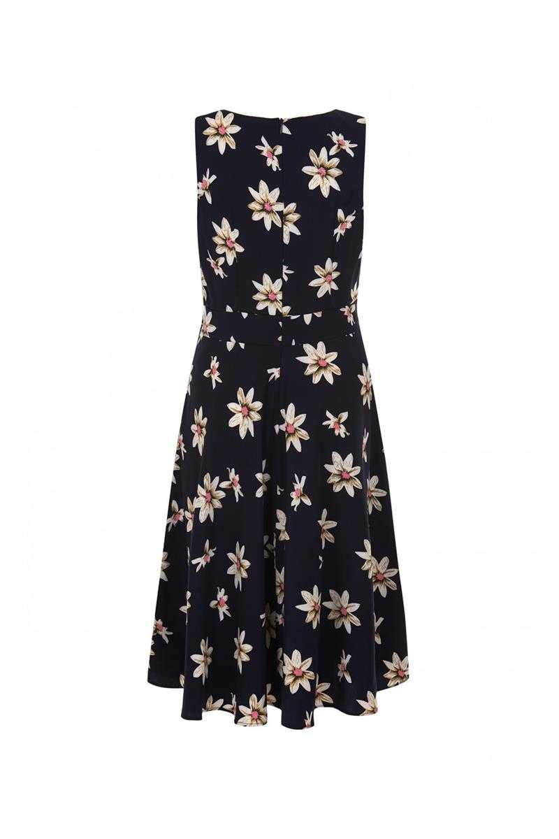Trollied Dolly Daisy Retro Midi Dress