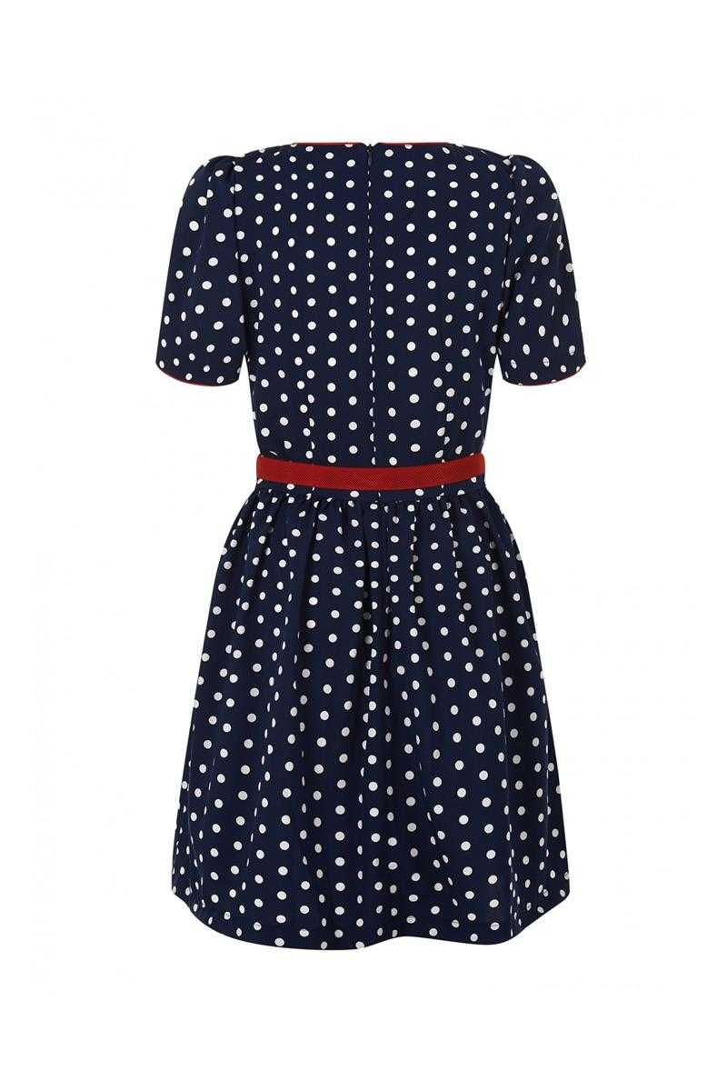 Trollied Dolly Polka Skater Dress