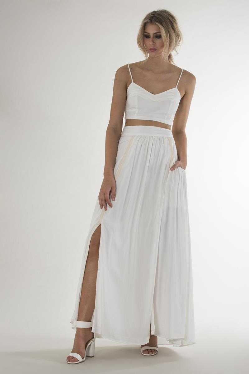 Three of Something Witchcraft Maxi Skirt