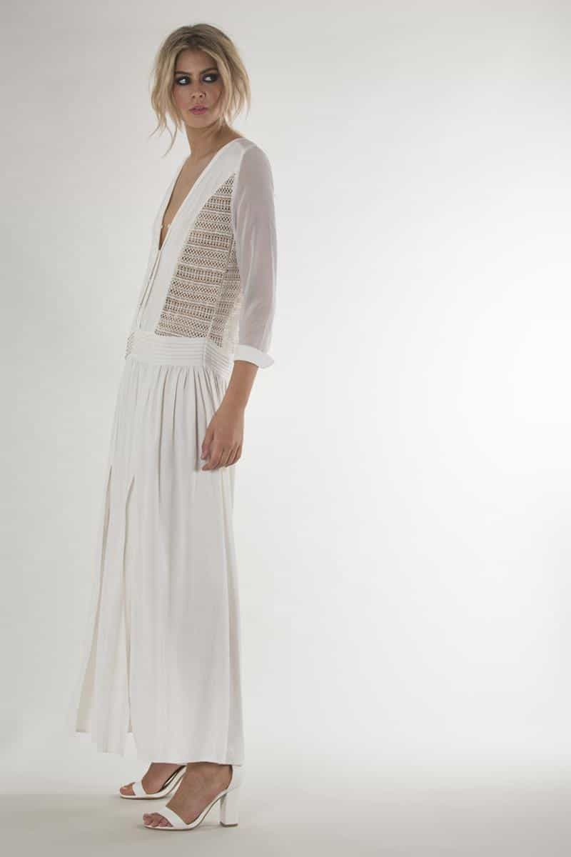 Madame Butterfly Maxi Dress