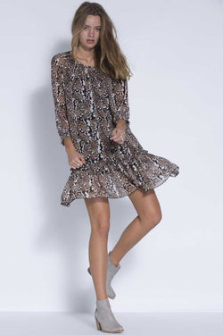 Storm Leopard Monsoon Dress