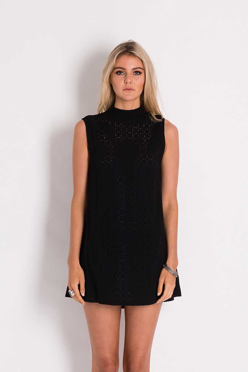 Three of Something Seven Stars Cluster Dress