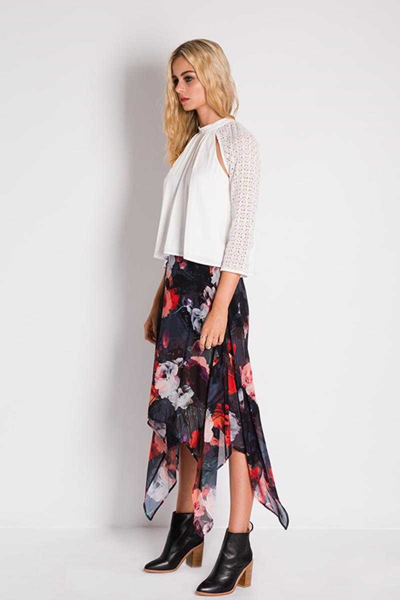 Three of Something Wild Frontier Skirt