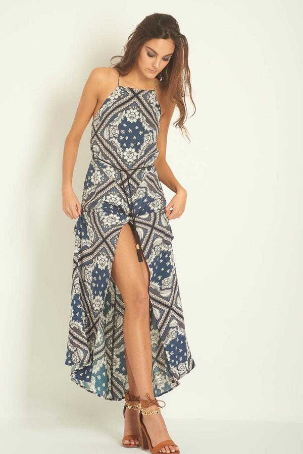 Three of Something Rock the Casbah Mosaic Maxi Dress