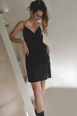 Three of Something Dexter Mini Dress Black