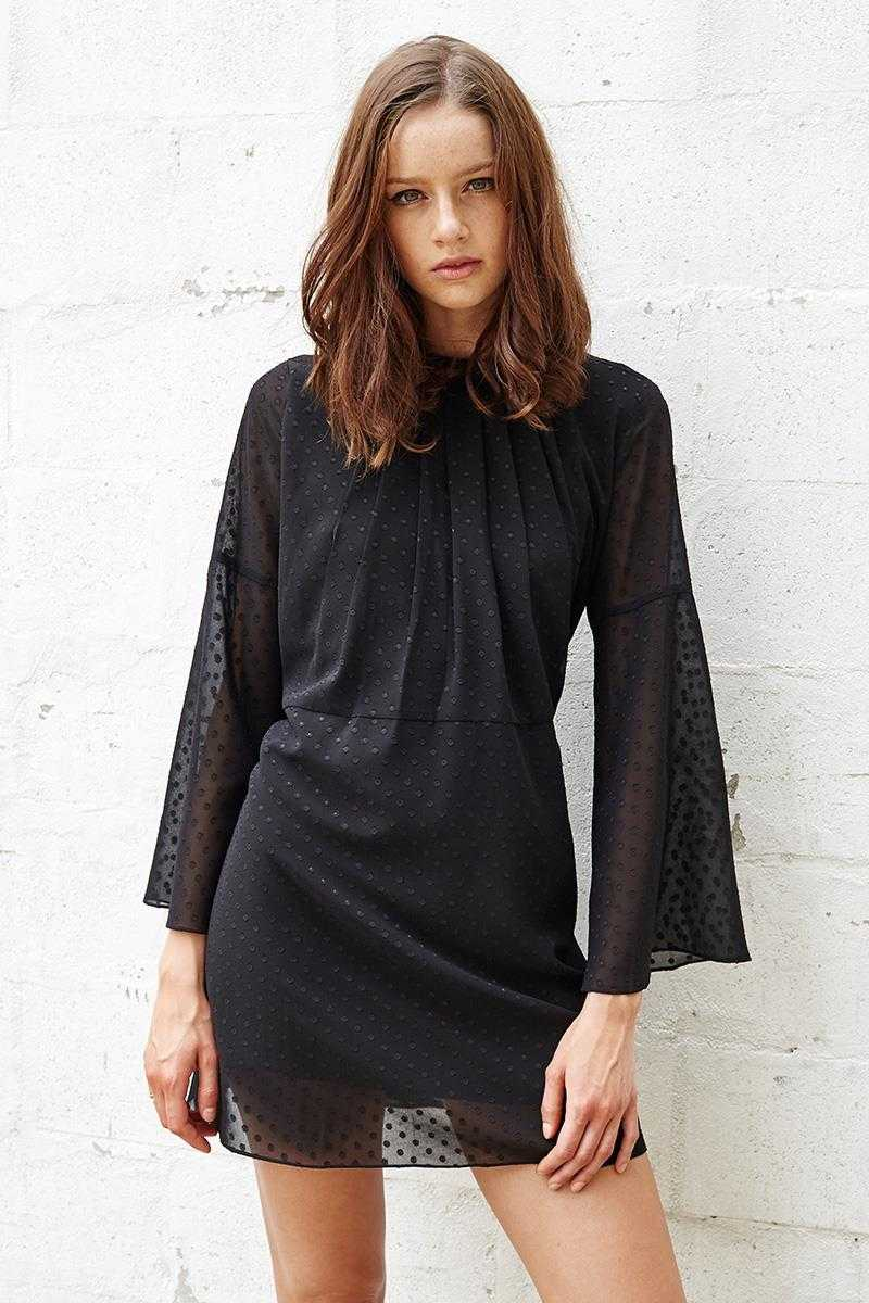 Three of Something Lonesome Dot Dress