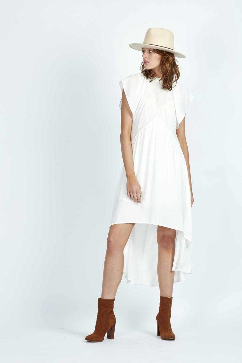 Three of Something Ring Of Fire Dress White