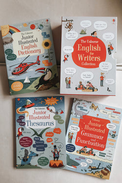 Usborne English For Writers Collection - 3 Books Boxset (ages 6+)