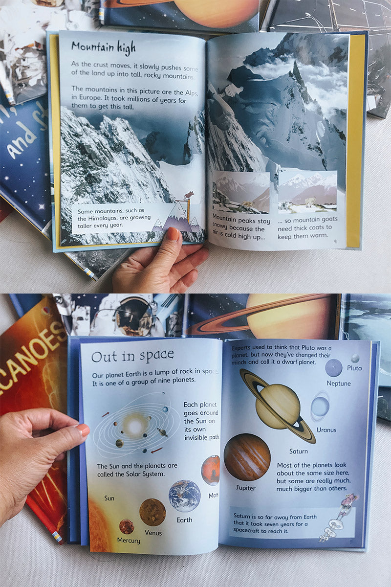 Usborne Beginners: Science Hardback Box Set (10 Books)