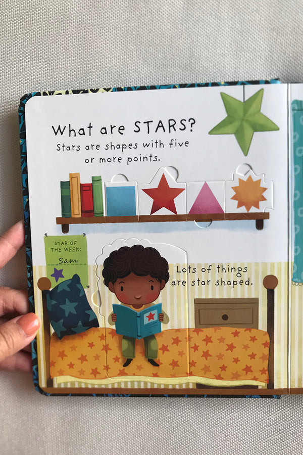 Usborne What are Stars and What is the Moon Lift and Flap Q&A (2 Books)