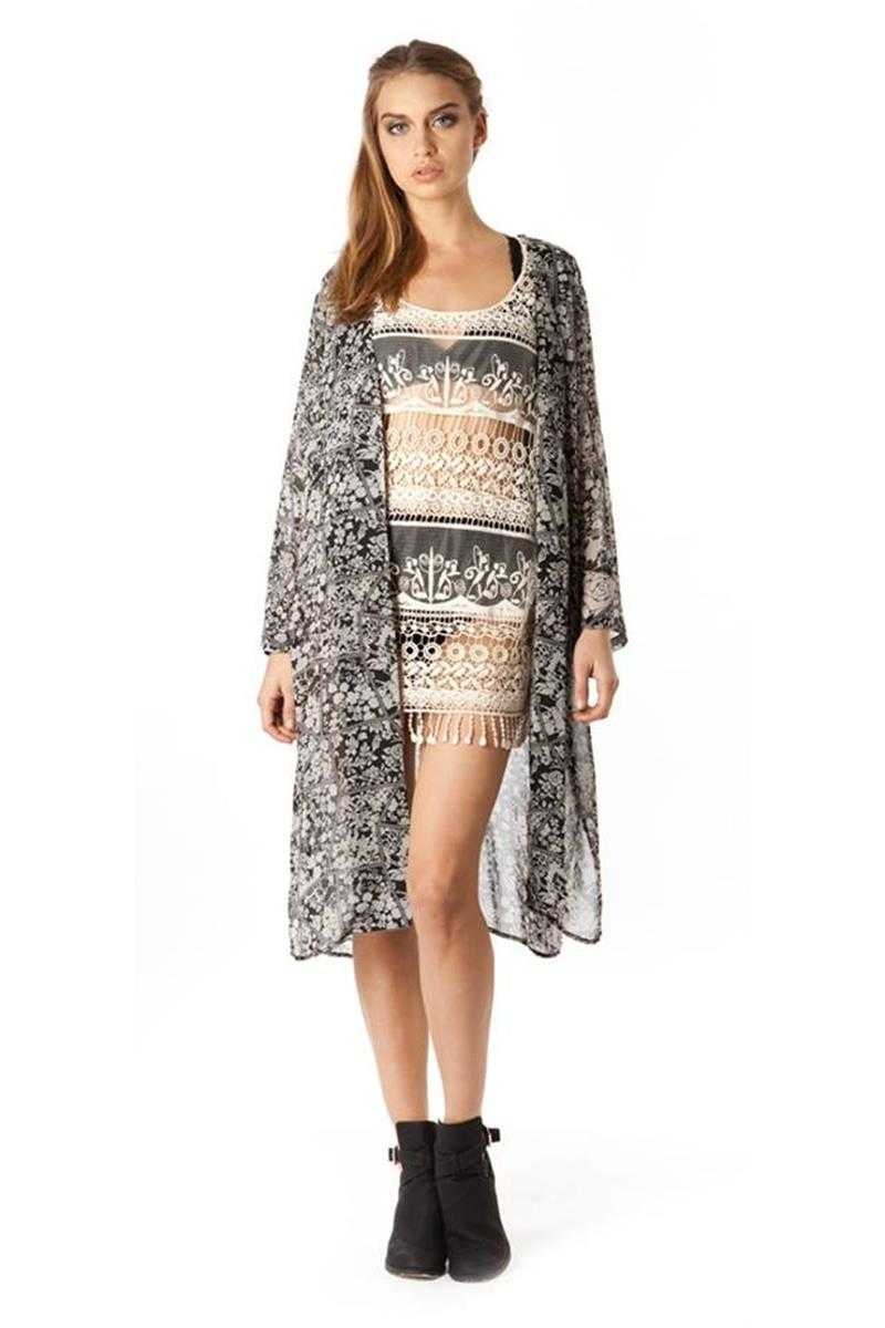 The Wallflower Cavalcade Crochet Tunic Dress