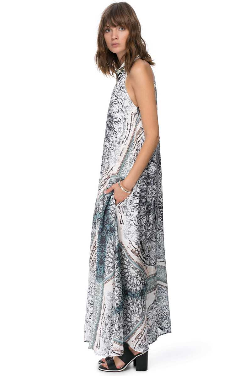 Elliatt The Wallflower Sweet Trip Print Maxi Dress - Talis Collection
