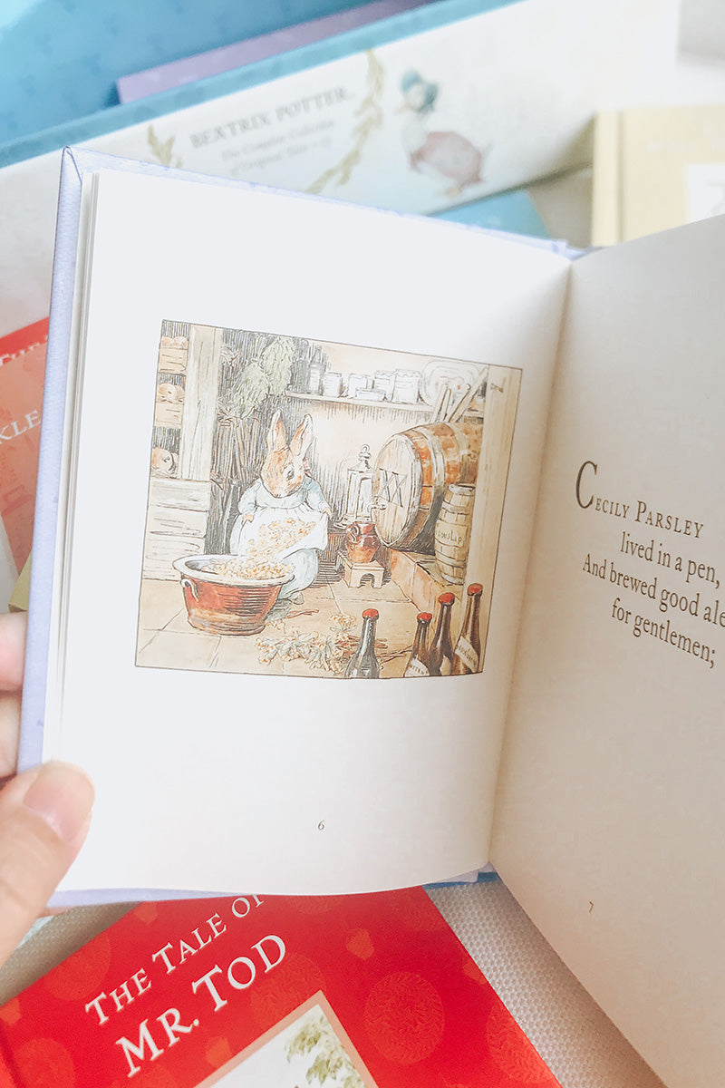 World of Peter Rabbit - the Complete Collection of Original Tales 1-23 Beatrix Potter (ages 3-8)