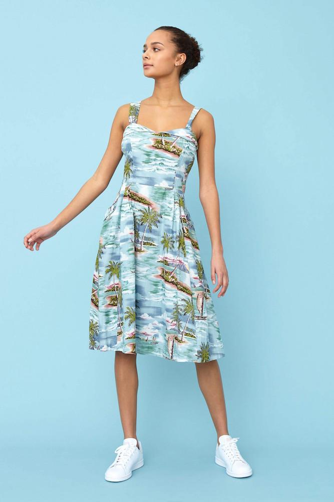 Emily and Fin Pippa Dress Pacific Island Paradise Sample Sale