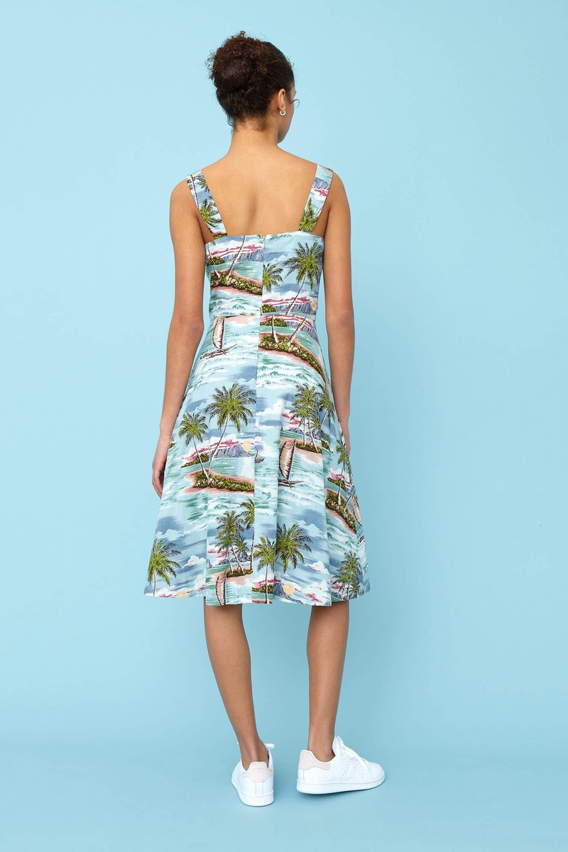 Emily and Fin Pippa Dress Pacific Island Paradise
