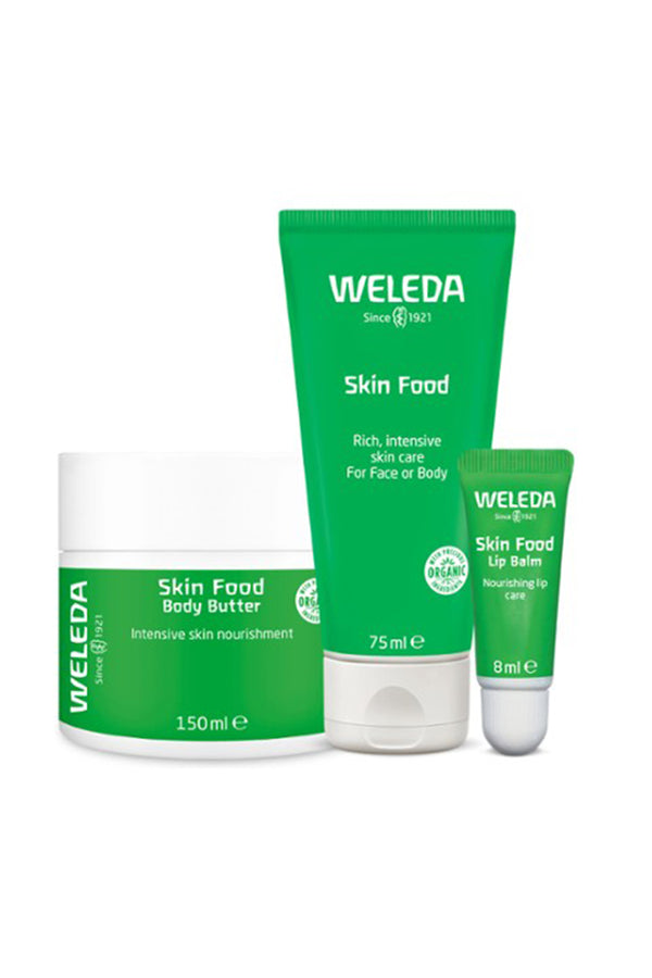 Weleda Skin Food Beautiful Head to Toe Bundle
