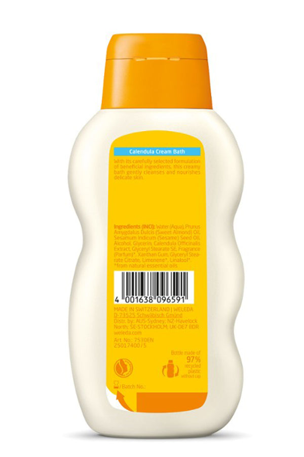 Weleda Calendula Baby Cream Bath 200ml