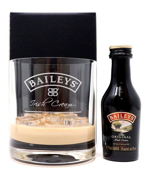 Personalised Premium Tumbler - Baileys Label Design
