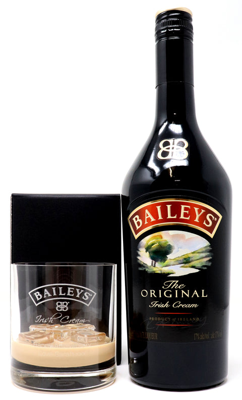 Personalised Premium Tumbler & 70cl Baileys Original - Baileys Label Design