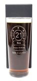 Personalised New Pint Glass - Birthday Design