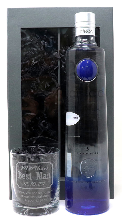 Personalised Ciroc Vodka Gift Hamper