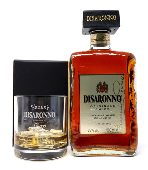 Personalised Premium Tumbler & 50cl Disaronno - Disaronno Design