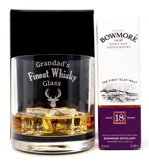 Personalised Premium Tumbler - Finest Whisky Design