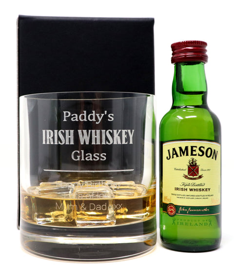 Personalised Premium Tumbler - Irish Whiskey Design
