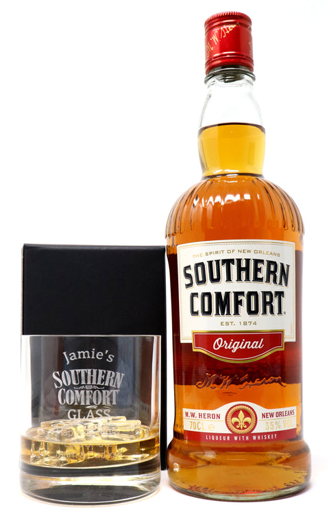 Personalised Premium Tumbler & 70cl Southern Comfort - Southern Comfort Design