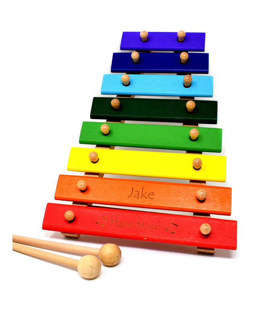 Personalised/Engraved Wooden Xylophone