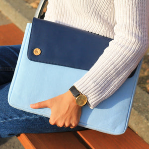 Moraltive Laptop Sleeves - Bell Blue